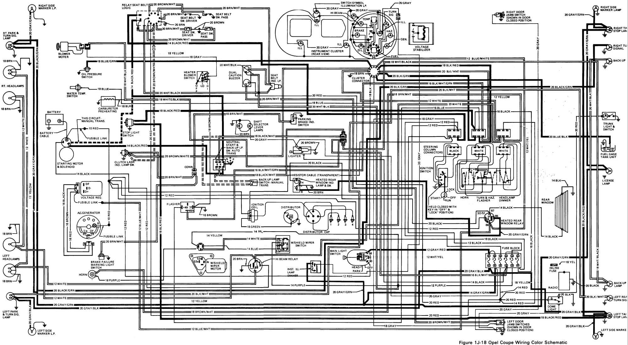 Opel Frontera B Wiring Diagram Diagrams Rj45 Gt Free Engine Image For User Manual Connector