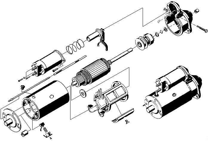 схема стартера - Практическая схемотехника.